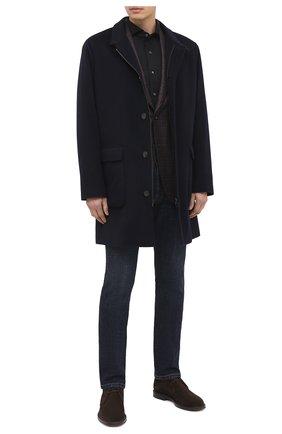 Мужская хлопковая рубашка VAN LAACK черного цвета, арт. M-PER-LSF/180031 | Фото 2
