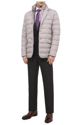 Мужская хлопковая сорочка VAN LAACK розового цвета, арт. RIVARA-SFN/132241 | Фото 2 (Материал внешний: Хлопок; Длина (для топов): Стандартные; Рукава: Длинные; Мужское Кросс-КТ: Сорочка-одежда; Случай: Формальный; Принт: Однотонные; Стили: Классический; Манжеты: На пуговицах; Воротник: Акула)