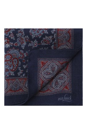 Мужской шерстяной платок VAN LAACK синего цвета, арт. LE0N/Z10326 | Фото 1