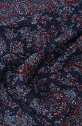 Мужской шерстяной платок VAN LAACK синего цвета, арт. LE0N/Z10326 | Фото 2