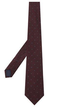 Мужской шелковый галстук VAN LAACK бордового цвета, арт. LER0Y/K04138   Фото 2