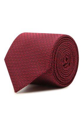 Мужской шелковый галстук VAN LAACK красного цвета, арт. LER0Y/K04148   Фото 1