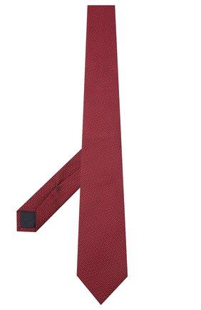 Мужской шелковый галстук VAN LAACK красного цвета, арт. LER0Y/K04148   Фото 2