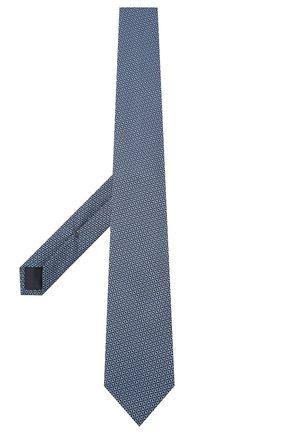 Мужской шелковый галстук VAN LAACK темно-синего цвета, арт. LER0Y/K04148 | Фото 2