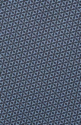 Мужской шелковый галстук VAN LAACK темно-синего цвета, арт. LER0Y/K04148 | Фото 3