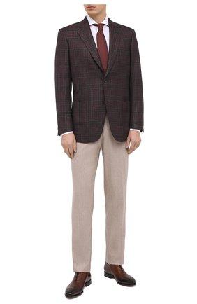 Мужская хлопковая сорочка VAN LAACK белого цвета, арт. MES0-DSF/160947 | Фото 2 (Длина (для топов): Стандартные; Рукава: Длинные; Материал внешний: Хлопок; Случай: Формальный; Стили: Классический)