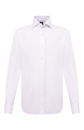Мужская хлопковая сорочка VAN LAACK белого цвета, арт. MIVARA-DSF/150005 | Фото 1 (Рукава: Длинные; Материал внешний: Хлопок; Длина (для топов): Стандартные; Случай: Формальный; Стили: Классический)