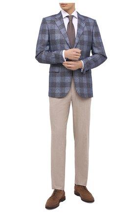 Мужская хлопковая сорочка VAN LAACK белого цвета, арт. MIVARA-DSF/150005 | Фото 2 (Рукава: Длинные; Материал внешний: Хлопок; Длина (для топов): Стандартные; Случай: Формальный; Стили: Классический)