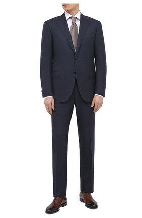 Мужская хлопковая сорочка VAN LAACK белого цвета, арт. MIVARA-DTF/160188 | Фото 2 (Длина (для топов): Стандартные; Материал внешний: Хлопок; Рукава: Длинные; Случай: Формальный; Стили: Классический)