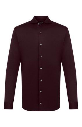 Мужская хлопковая рубашка VAN LAACK бордового цвета, арт. M-PER-LSF/187048   Фото 1