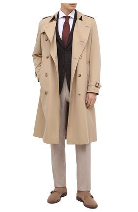 Мужская хлопковая сорочка VAN LAACK белого цвета, арт. RAND0-SF/160061 | Фото 2 (Материал внешний: Хлопок; Рукава: Длинные; Длина (для топов): Стандартные; Случай: Формальный; Стили: Классический; Воротник: Кент)