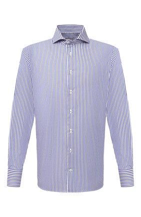Мужская хлопковая сорочка VAN LAACK синего цвета, арт. RES0-SFN/161947 | Фото 1