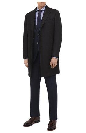 Мужская хлопковая сорочка VAN LAACK синего цвета, арт. RES0-SFN/161947 | Фото 2
