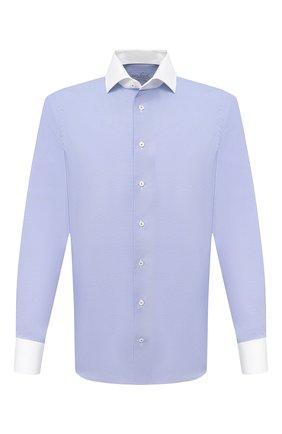 Мужская хлопковая сорочка VAN LAACK синего цвета, арт. RIVARA-FSF/162801 | Фото 1
