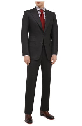 Мужская хлопковая сорочка VAN LAACK коричневого цвета, арт. RIVARA-SFN/161952 | Фото 2