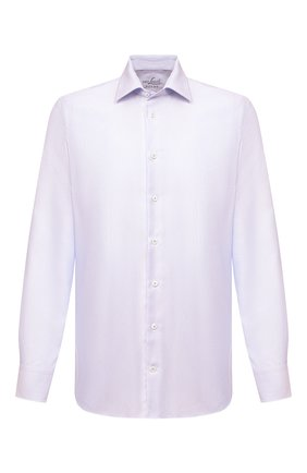 Мужская хлопковая сорочка VAN LAACK сиреневого цвета, арт. RIVARA-SFN/162042 | Фото 1
