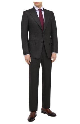 Мужская хлопковая сорочка VAN LAACK сиреневого цвета, арт. RIVARA-SFN/162042 | Фото 2