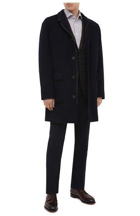 Мужская хлопковая сорочка VAN LAACK коричневого цвета, арт. RIVARA-TF/162045 | Фото 2
