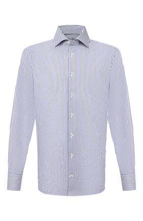 Мужская хлопковая сорочка VAN LAACK синего цвета, арт. RIVARA-TF/162045 | Фото 1