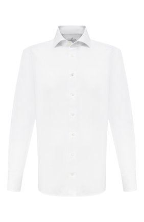 Мужская хлопковая сорочка VAN LAACK белого цвета, арт. RIVARA-TFN/150046 | Фото 1