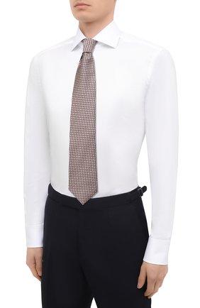 Мужская хлопковая сорочка VAN LAACK белого цвета, арт. RIVARA-TFN/150046 | Фото 4