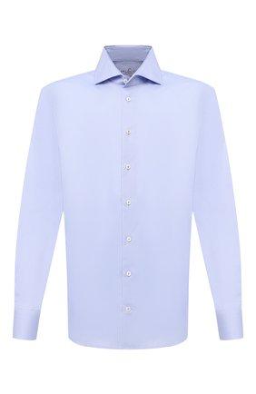 Мужская хлопковая сорочка VAN LAACK голубого цвета, арт. RIVARA-TFN/150046 | Фото 1
