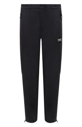Мужские утепленные брюки GIORGIO ARMANI черного цвета, арт. 0WGPP0FD/T0206   Фото 1