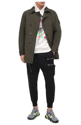 Мужские текстильные кроссовки x9000l4 ADIDAS ORIGINALS серого цвета, арт. FW8385 | Фото 2