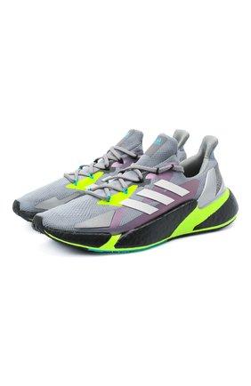 Мужские текстильные кроссовки x9000l4 ADIDAS ORIGINALS светло-серого цвета, арт. FW8385 | Фото 1