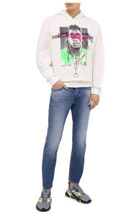 Мужские текстильные кроссовки x9000l4 ADIDAS ORIGINALS светло-серого цвета, арт. FW8385 | Фото 2