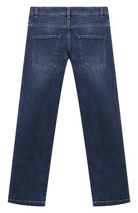 Детские джинсы FENDI синего цвета, арт. JMF316/A6IQ/8A-12+   Фото 2