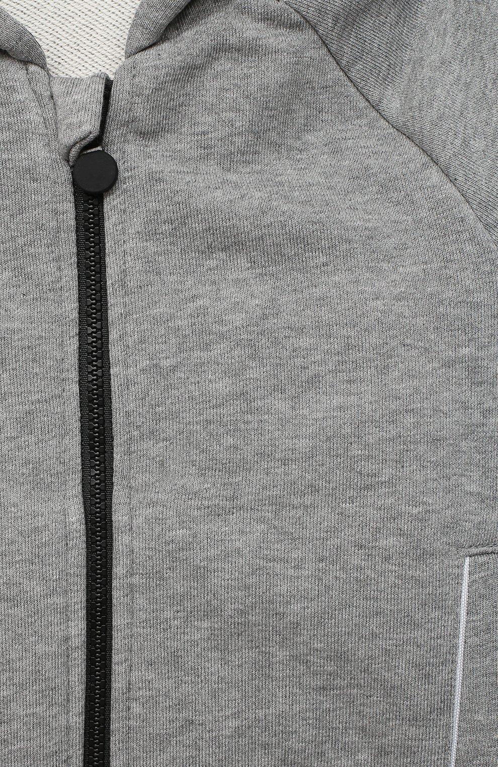Детский толстовка GIVENCHY серого цвета, арт. H05131   Фото 3