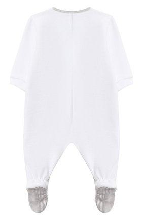 Детский пижама GIVENCHY белого цвета, арт. H98090 | Фото 3