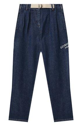 Детские джинсы GIVENCHY синего цвета, арт. H14106 | Фото 1