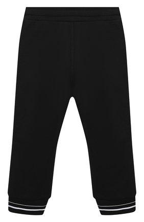 Детские брюки GIVENCHY черного цвета, арт. H04082 | Фото 2