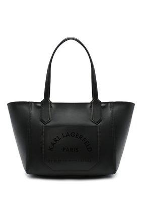 Детская сумка KARL LAGERFELD KIDS черного цвета, арт. Z10085 | Фото 1