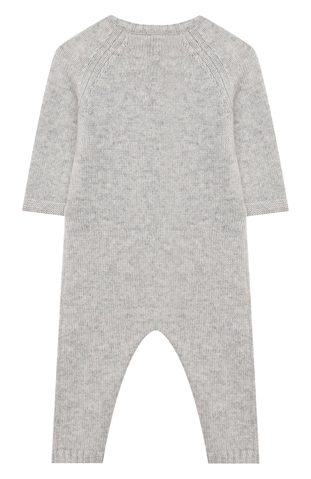 Детский шерстяной комбинезон LANVIN серого цвета, арт. N94000 | Фото 2
