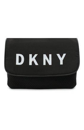 Детская сумка DKNY черного цвета, арт. D31271 | Фото 1