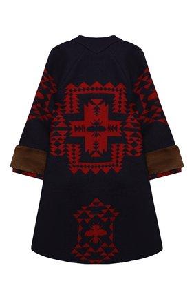 Детское шерстяное пальто GUCCI разноцветного цвета, арт. 622172/ZAE4X   Фото 2