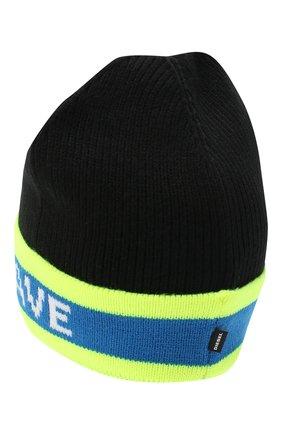 Детского шапка DIESEL черного цвета, арт. 00J52C-KYAQZ | Фото 2