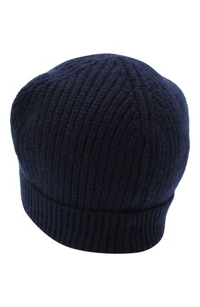 Детского кашемировая шапка GIORGETTI CASHMERE темно-синего цвета, арт. MB1694/12A   Фото 2