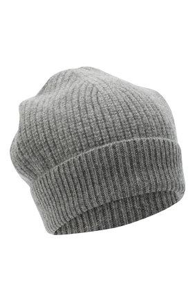Детского кашемировая шапка GIORGETTI CASHMERE темно-серого цвета, арт. MB1694/8A   Фото 1