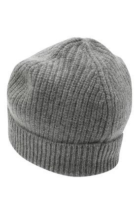 Детского кашемировая шапка GIORGETTI CASHMERE темно-серого цвета, арт. MB1694/8A   Фото 2