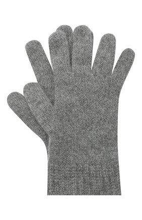 Детские кашемировые перчатки GIORGETTI CASHMERE темно-серого цвета, арт. MB1698/RASATI/12A | Фото 1