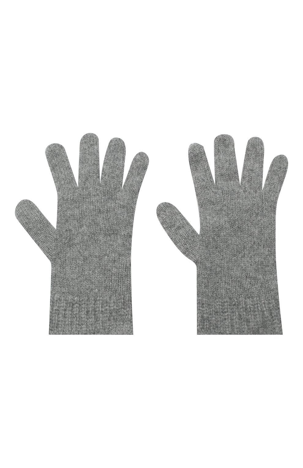Детские кашемировые перчатки GIORGETTI CASHMERE темно-серого цвета, арт. MB1698/RASATI/12A   Фото 2