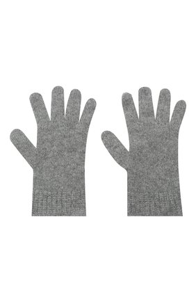Детские кашемировые перчатки GIORGETTI CASHMERE темно-серого цвета, арт. MB1698/RASATI/12A | Фото 2