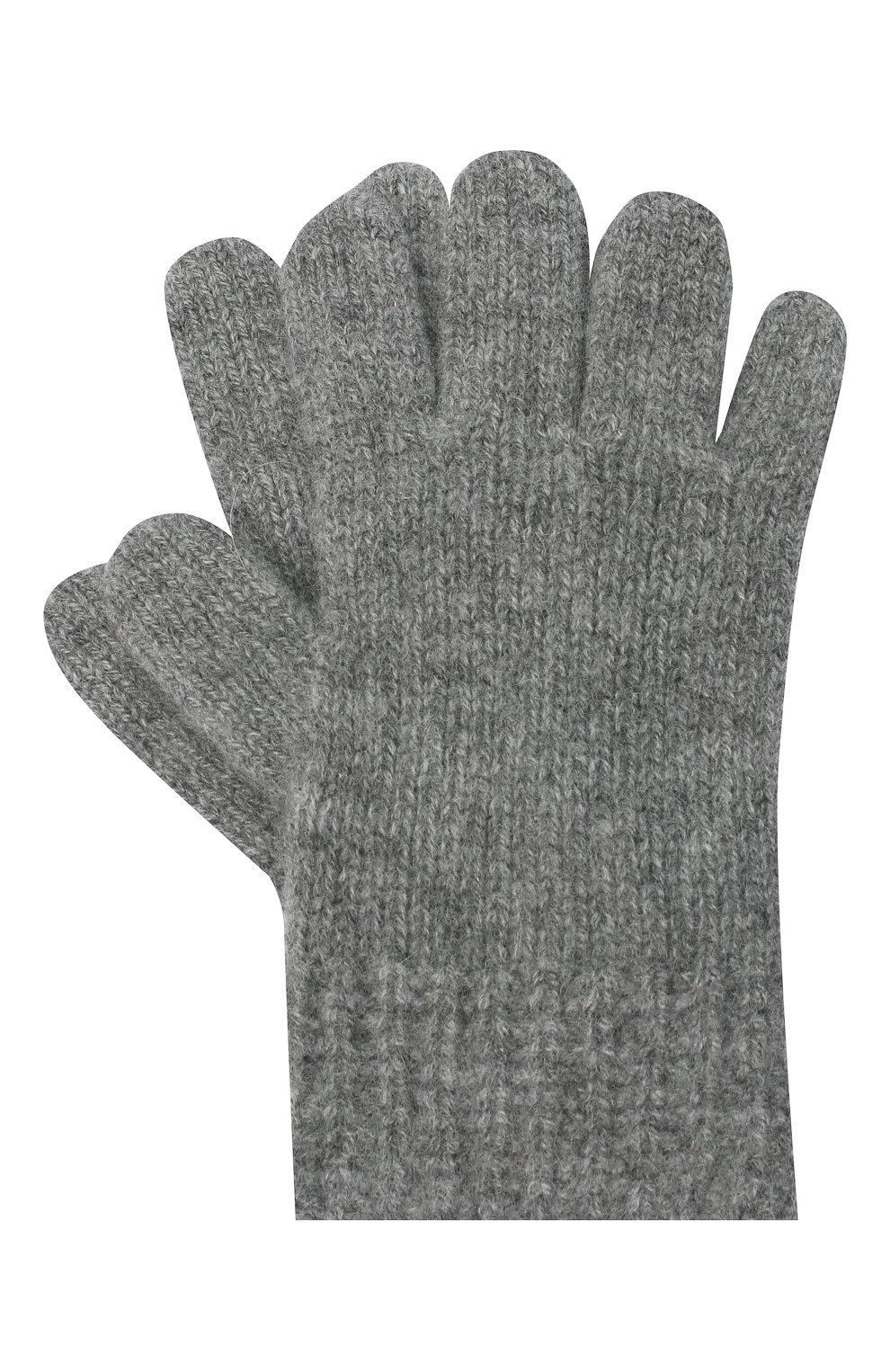 Детские кашемировые перчатки GIORGETTI CASHMERE темно-серого цвета, арт. MB1698/RASATI/4A | Фото 1
