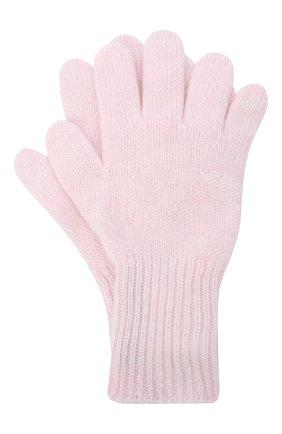 Детские кашемировые перчатки GIORGETTI CASHMERE розового цвета, арт. MB1699/12A | Фото 1
