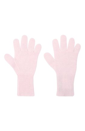 Детские кашемировые перчатки GIORGETTI CASHMERE розового цвета, арт. MB1699/12A | Фото 2