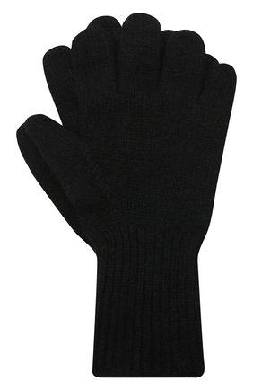 Детские кашемировые перчатки GIORGETTI CASHMERE черного цвета, арт. MB1699/12A | Фото 1
